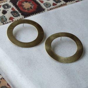 Σκουλαρίκια – ορειχάλκινοι κύκλοι