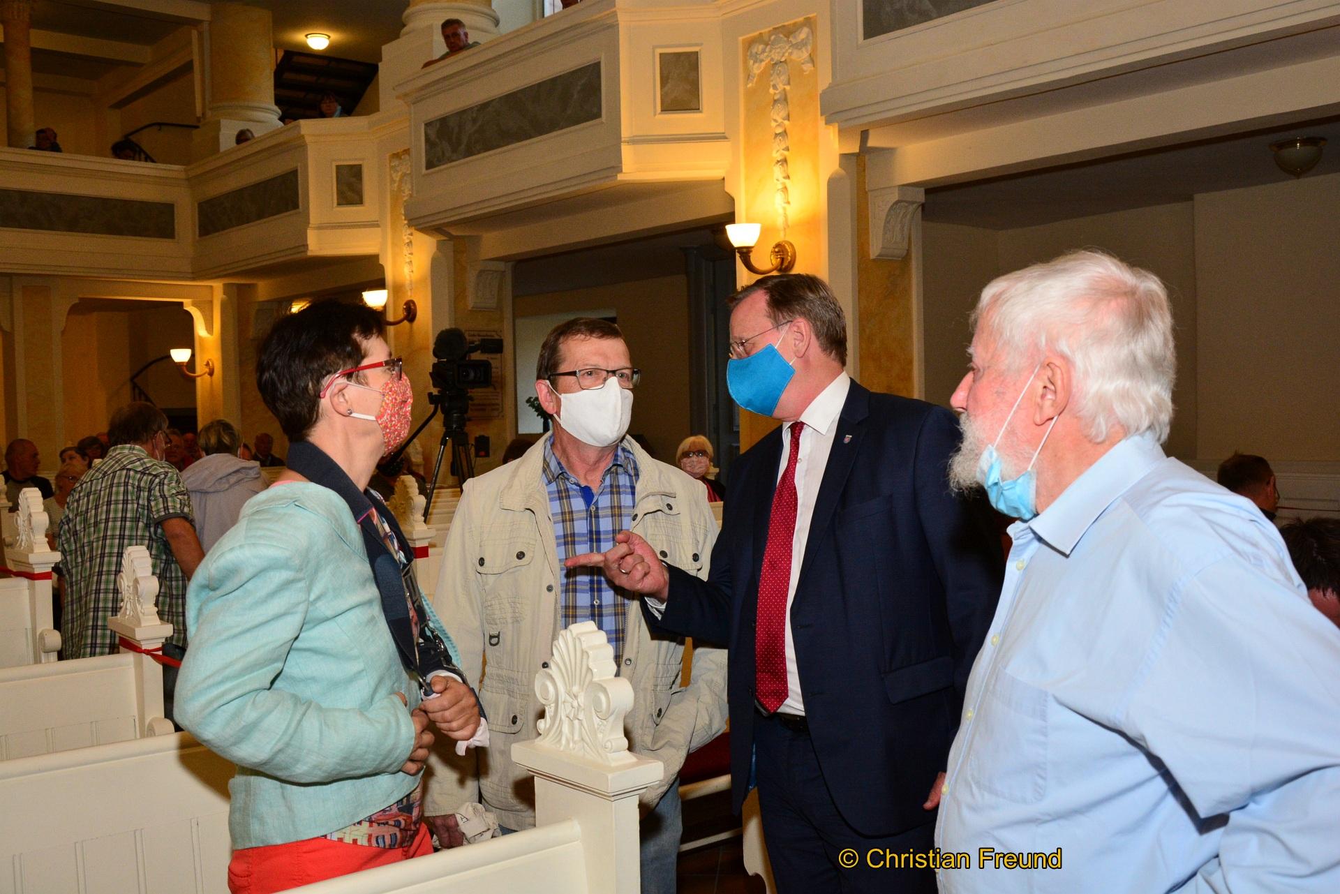 Dickes Lob für Greizer Bürgermeister Alexander Schulze