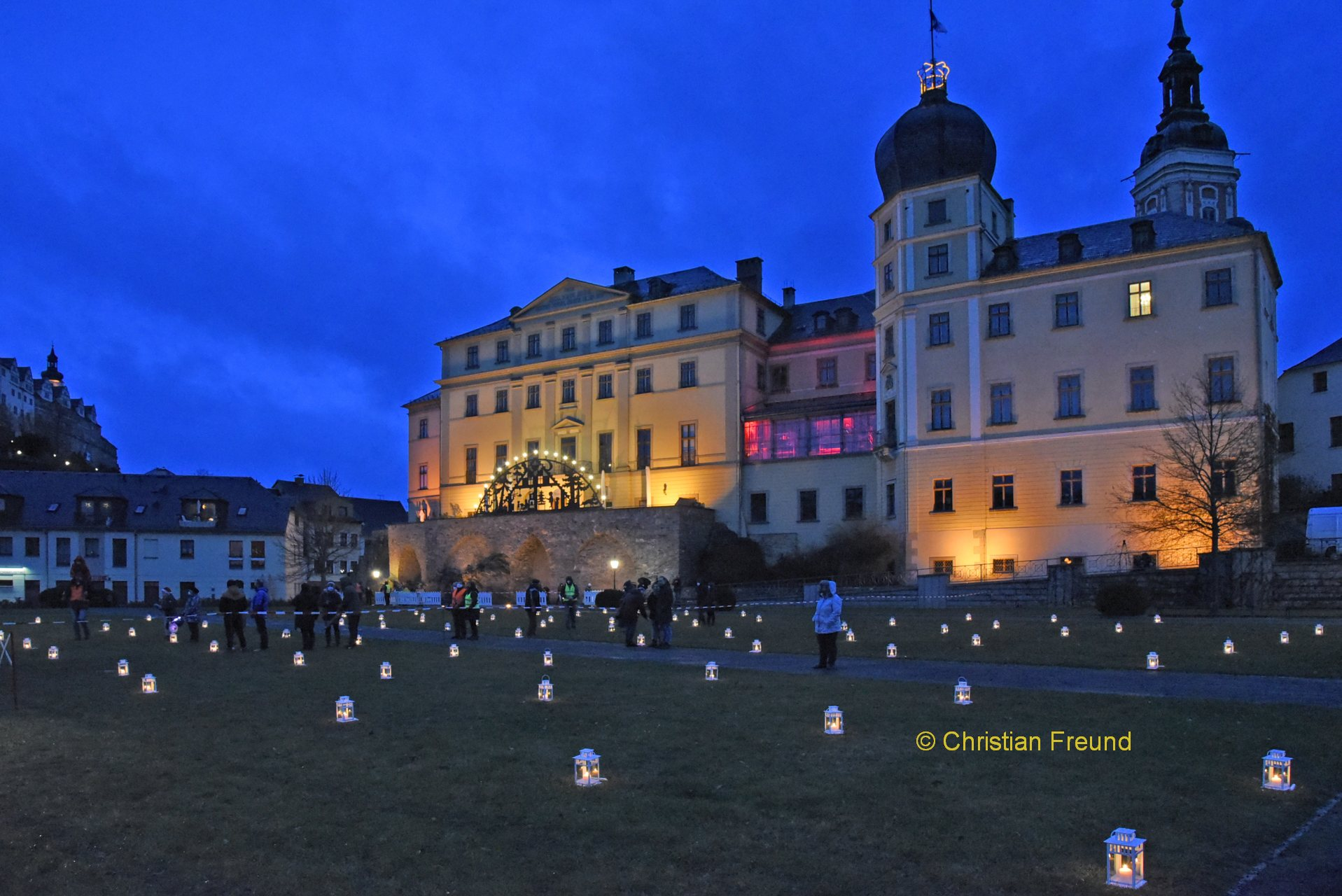 Open-Air-Gottesdienst im Schlossgarten