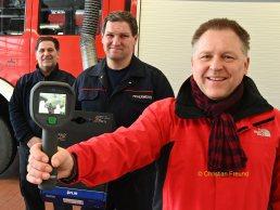 Moderne Wärmebildkamera für Greizer Feuerwehrausrüstung