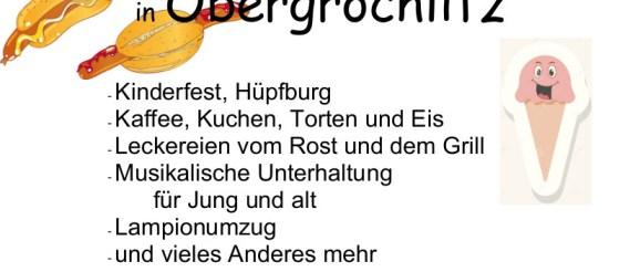 Obergrochlitzer Sommerfest