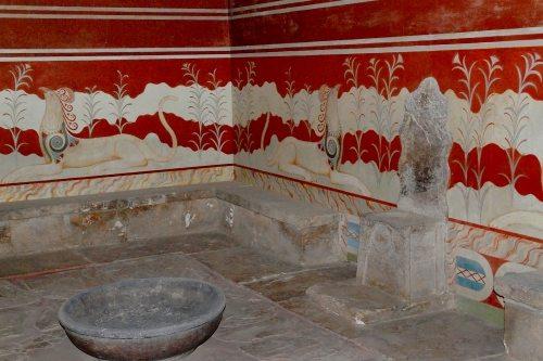 Кносский дворец - Тронный зал