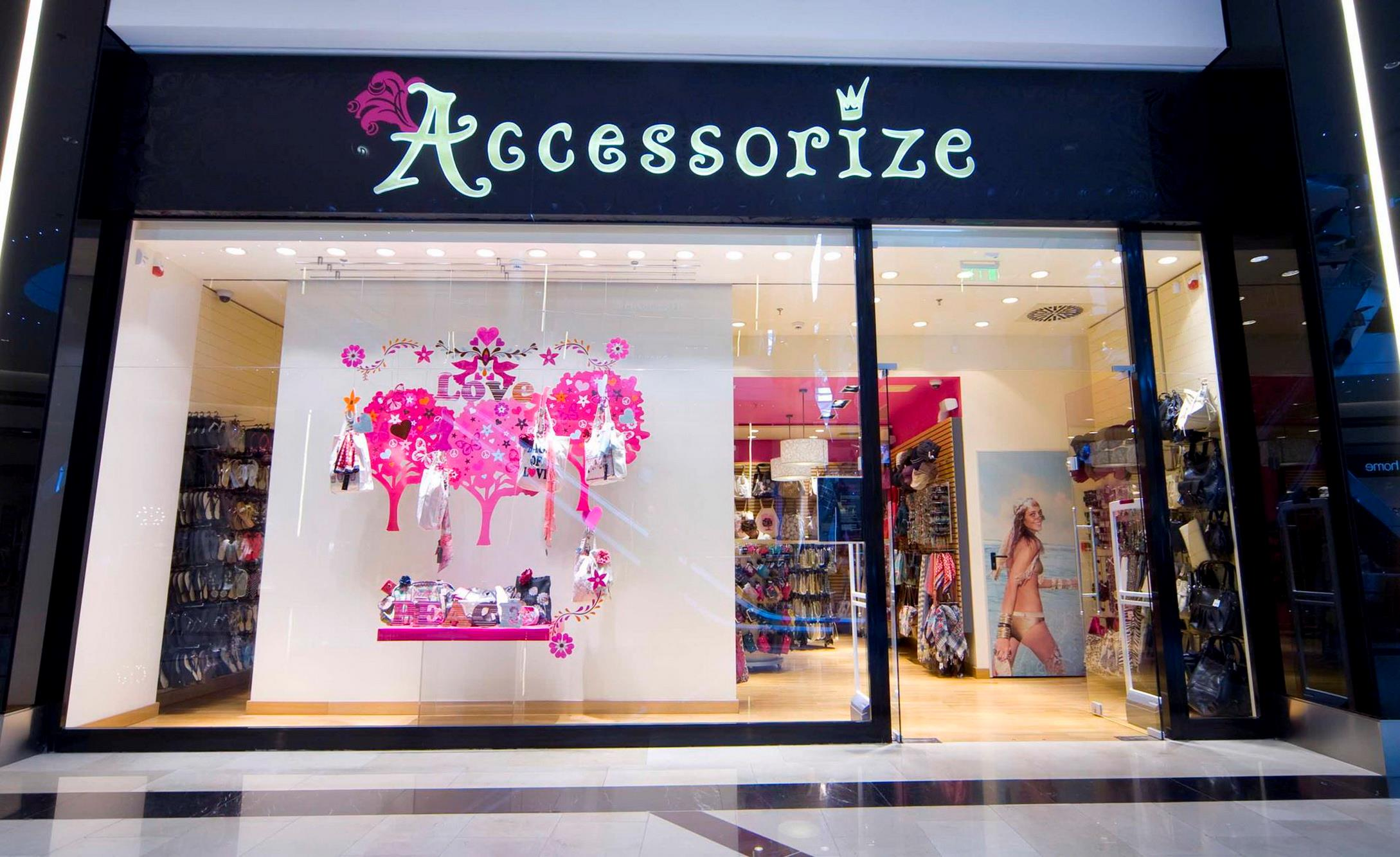 Accessorize  Stores with accessories