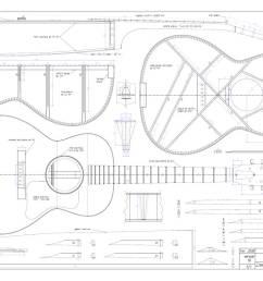 acoustic guitar bracing diagram [ 1024 x 768 Pixel ]