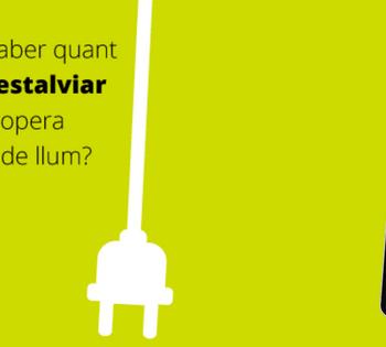 Voleu saber quant podeu estalviar en la propera factura de llum?