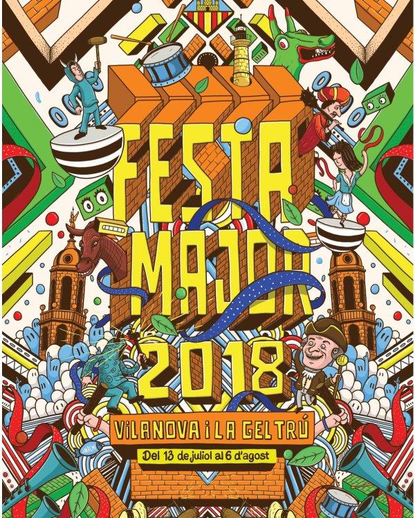 Festa Major de Vilanova i la Geltru 2018