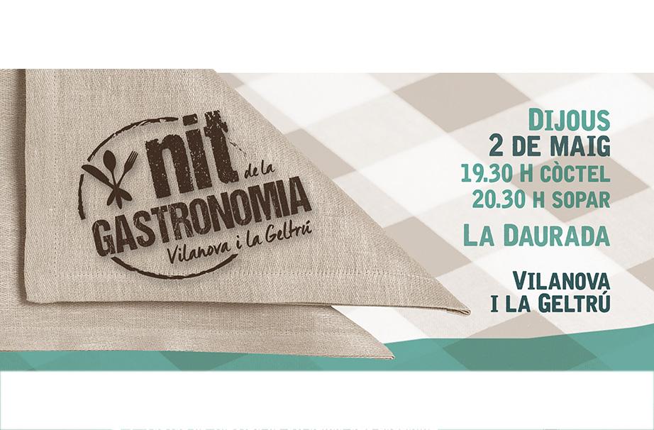 V edició de la Nit de la Gastronomia de Vilanova i la Geltrú