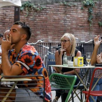 Prohibició de fumar a les terrasses
