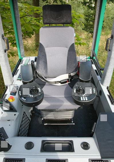 Gremo Forwarder 1050F  Interior  GREMO AB