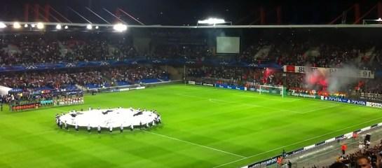 Image rare d'un stade de la Mosson rempli