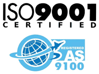AS 9100D/ISO-9001:2015 certified