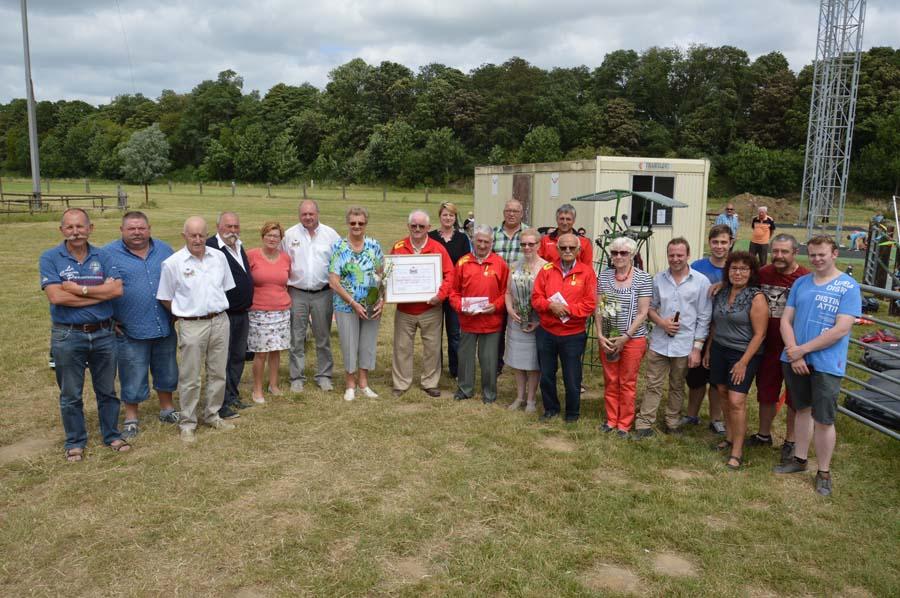 Koninklijke Handbooggilde Sint-Joris Boezinge viert drievoudig 50 jaar lidmaatschap