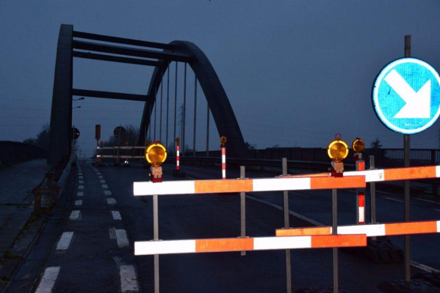 La Flandrebrug in Zwevegem blijft nog meer dan een jaar gedeeltelijk onderbroken