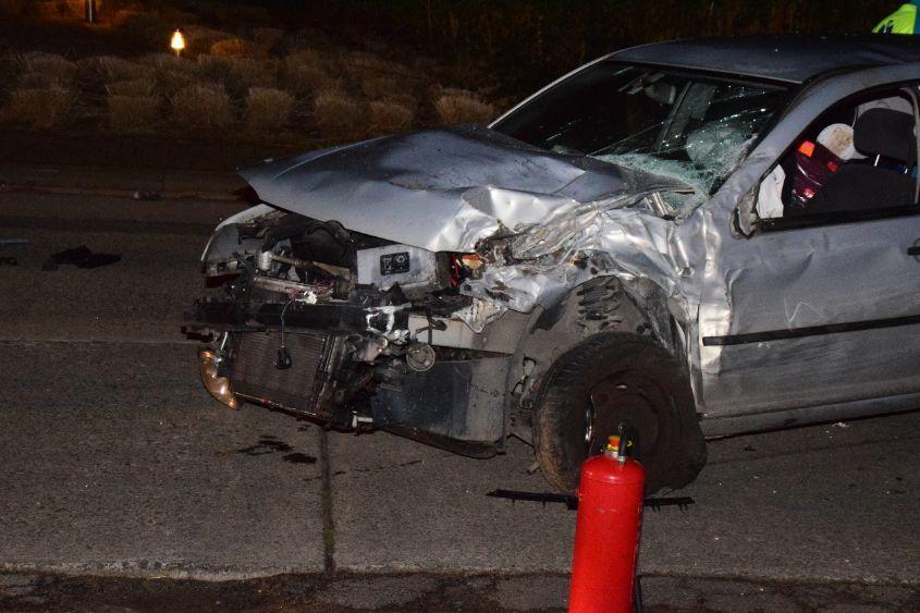 Grote ravage na verkeersongeval te Menen
