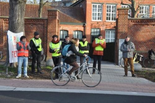 Nationale applausdag fietsers, ook in Ieper