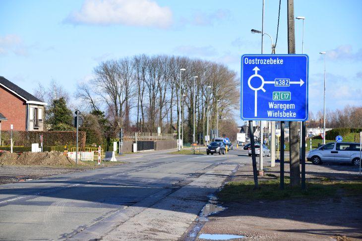 Werken N357 Oostrozebekestraat in Ingelmunster van start op 16 april