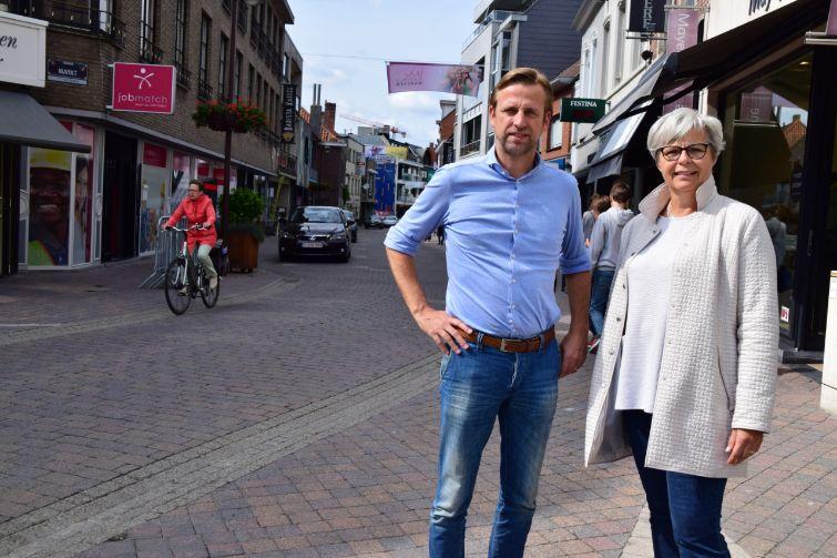 Meer fietsstraten en uitbreiding zone 30 in Waregem
