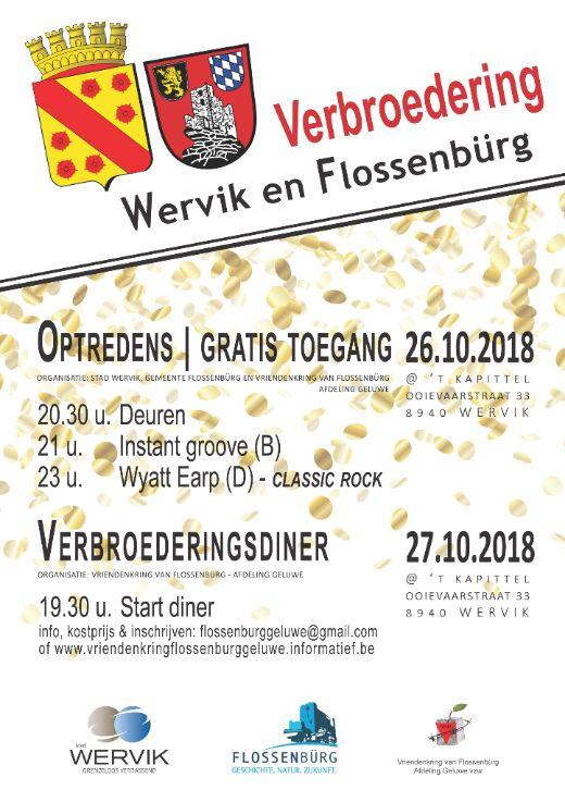 Verbroederingsfeest Wervik - Flossenbürg