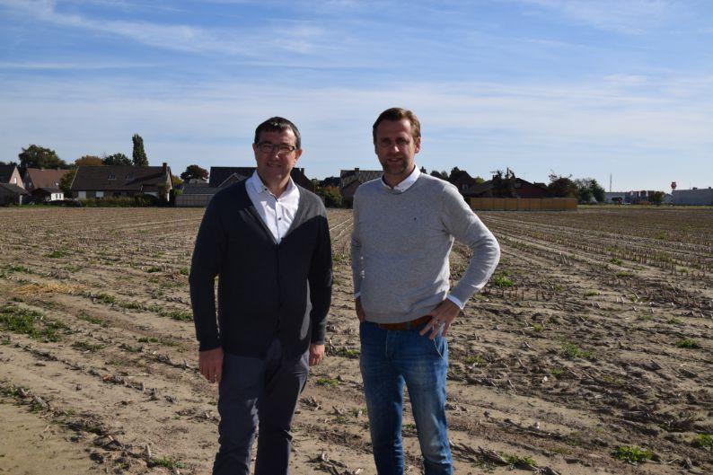 Nieuw woonproject met 100 woningen te Waregem (Sint-Eloois-Vijve)