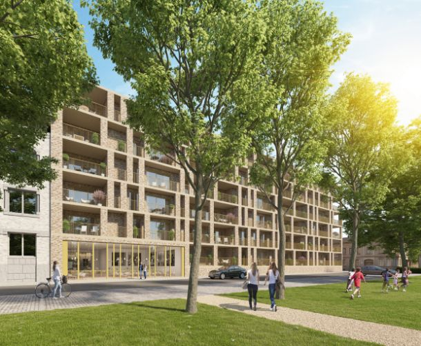Wonen in terrasrijke comfortappartementen op site voormalige kliniek Zwarte Zusters te Ieper