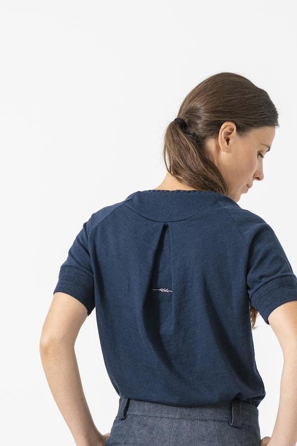T-Shirt Milla von Grenzgang Slow Organic Fashion