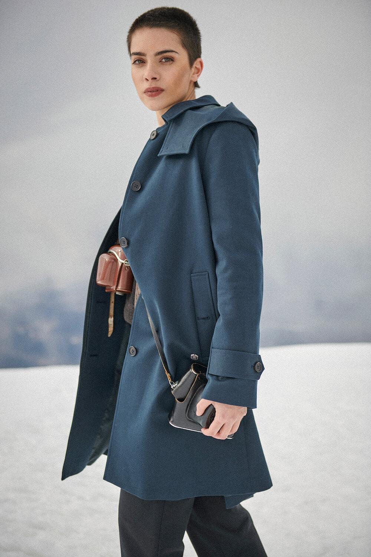 Mantel Aida von Grenzgang Slow Organic Fashion