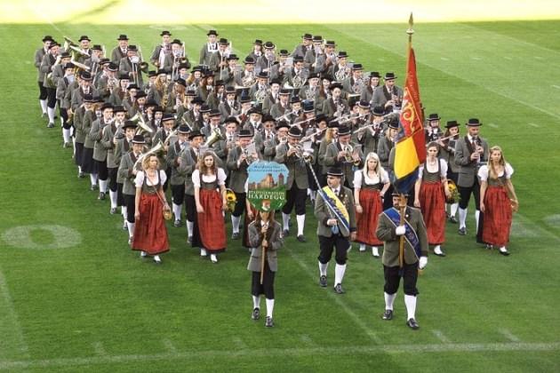 WGK beim Militärmusik-Festival 2014 in St. Pölten.
