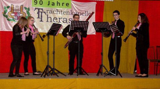 The Five Pinkies (v.l.): Celina Fröschl, Jacqueline Pausackerl, Johannes Wimmer, Lena Schleifer, Georg Eschinger