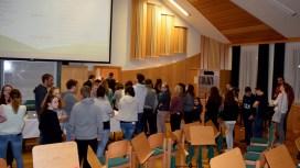 Die Mitglieder der Grenzlandkapelle wählen ihren neuen Vorstand.