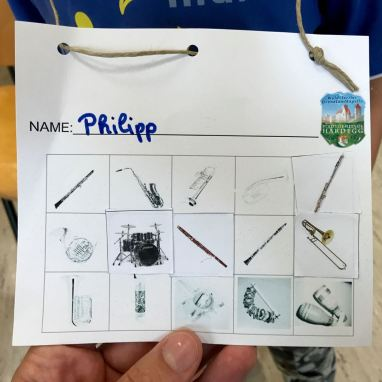 Das war der Ferienspiel-Pass für die Teilnehmer.