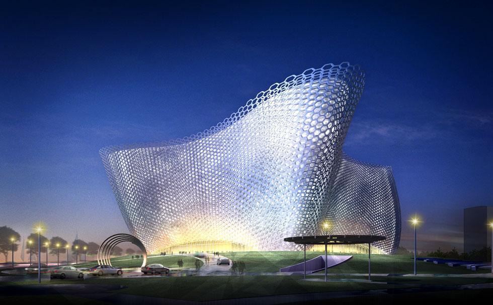 Theatre Putuo Zhoushan Opera House  Gresham Smith and