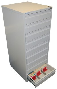 9-Drawer Microfilm Cabinet - Gresswell Specialist ...