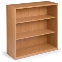 Open Wooden Bookcases
