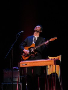 Colm McClean, guitar & pedal steel photo by Andrew Newiss