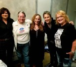 City Winery, Nashville, TN 25 September 2018 L to R Amy Ray, Kelly McCartney, Gretchen, Mary Gauthier, Emily Saliers