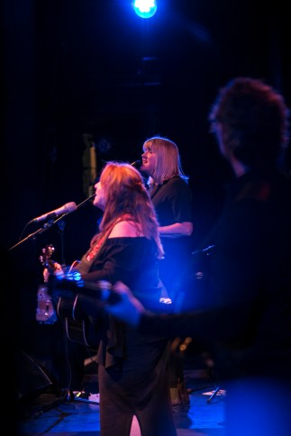 with Kim Richey RNCM, Manchester, 27 May 2018 photo by Rebecca Kemp