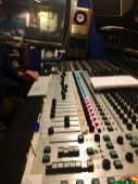 Flickinger console at Cinderella Studio