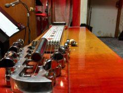 Dan Dugmore's pedal steel guitar