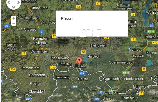 Twitter Bootstrap und defekte InfoWindows bei Google Maps V3