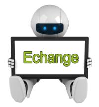robot échange de liens