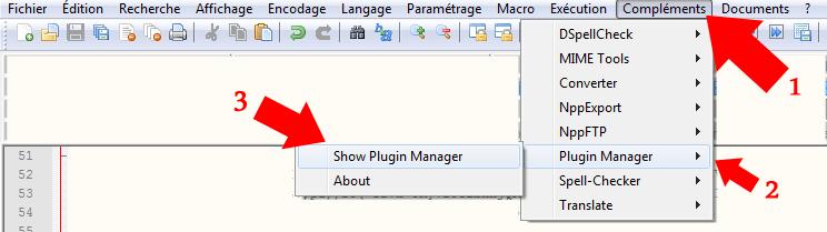 plugin notepad++