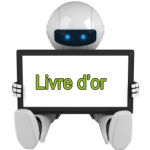 robot guestbook