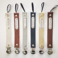 MODERN PACIFIER CLIPS  GREY & SCOUT