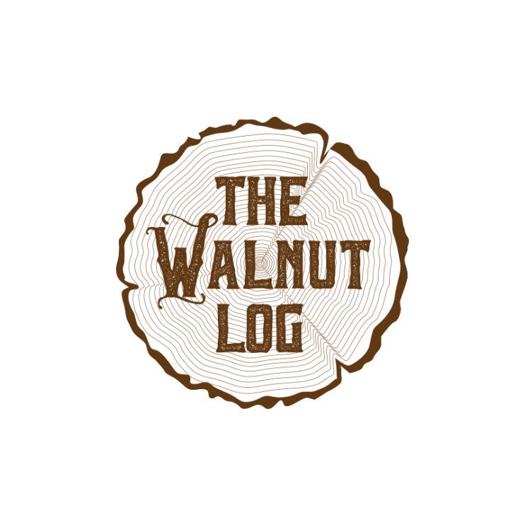 The Walnut Log Logo