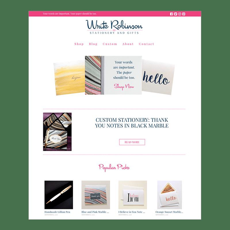 Write Robinson Web Design