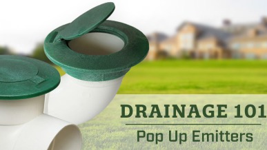 kitchen gutter lowes pantry drainage 101: the benefits of using pop-up emitters ...