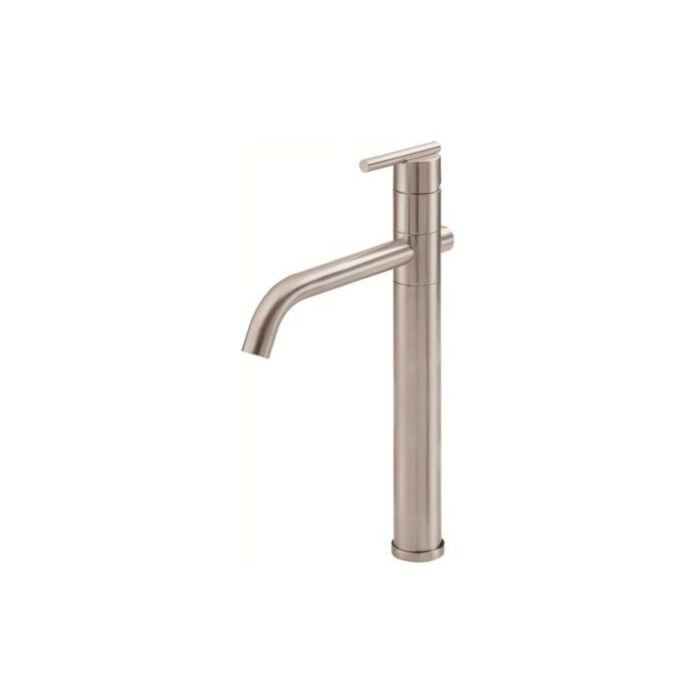 danze d225158bn parma single handle vessel filler lavatory faucet brushed nickel