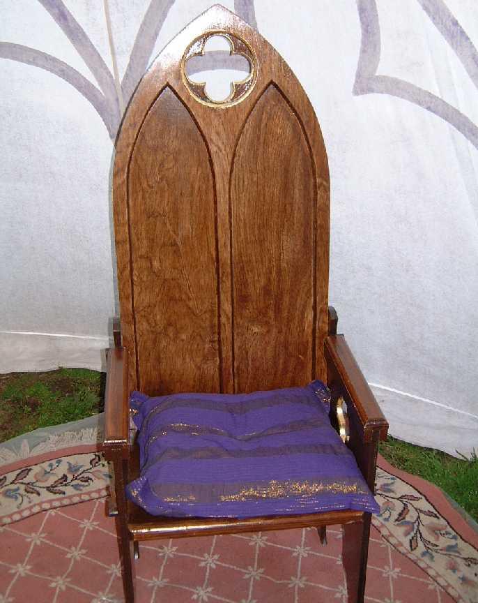 Gothic Arch break down chairs