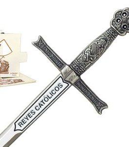 Miniature Sword of Catholic Kings (Silver) by Marto of Toledo Spain