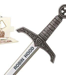 Miniature Robin Hood Sword (Silver) by Marto of Toledo Spain